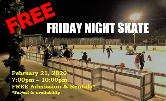 Free Friday Night Skate - February 21