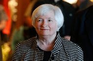Janet L. Yellen, the Federal Reserve chairwoman, on Thursday. The Fed raised interest rates in December for the first time since the financial crisis.