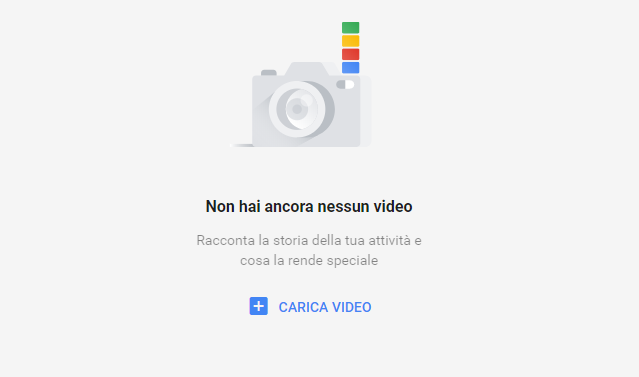Come caricare video in Google my business