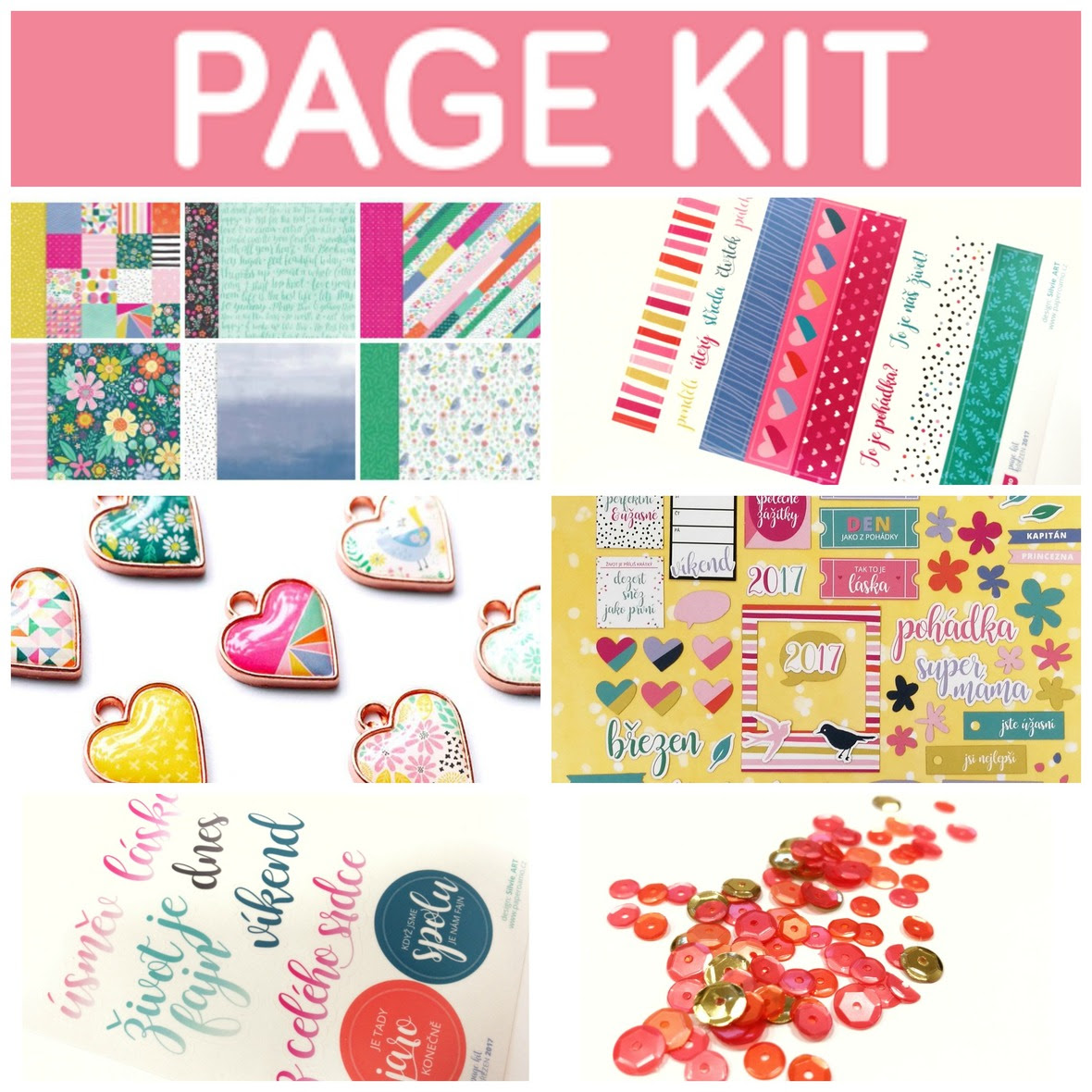 PicMonkey Collage page kit brezen 2017 banner