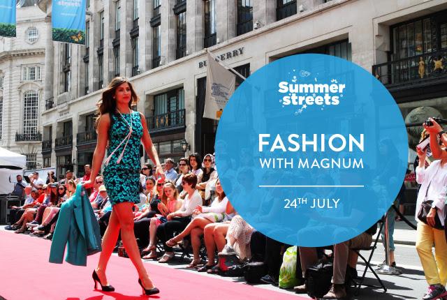 Fashion with Magnum on Regent Street