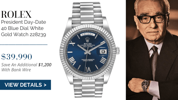 President Day Date Blue