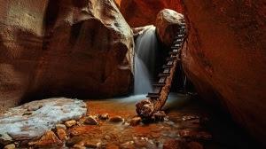 Upper-Kanarra-Falls-Utah-Mystical-view-of-the-Upper-Kanarra-Falls-in-Utah