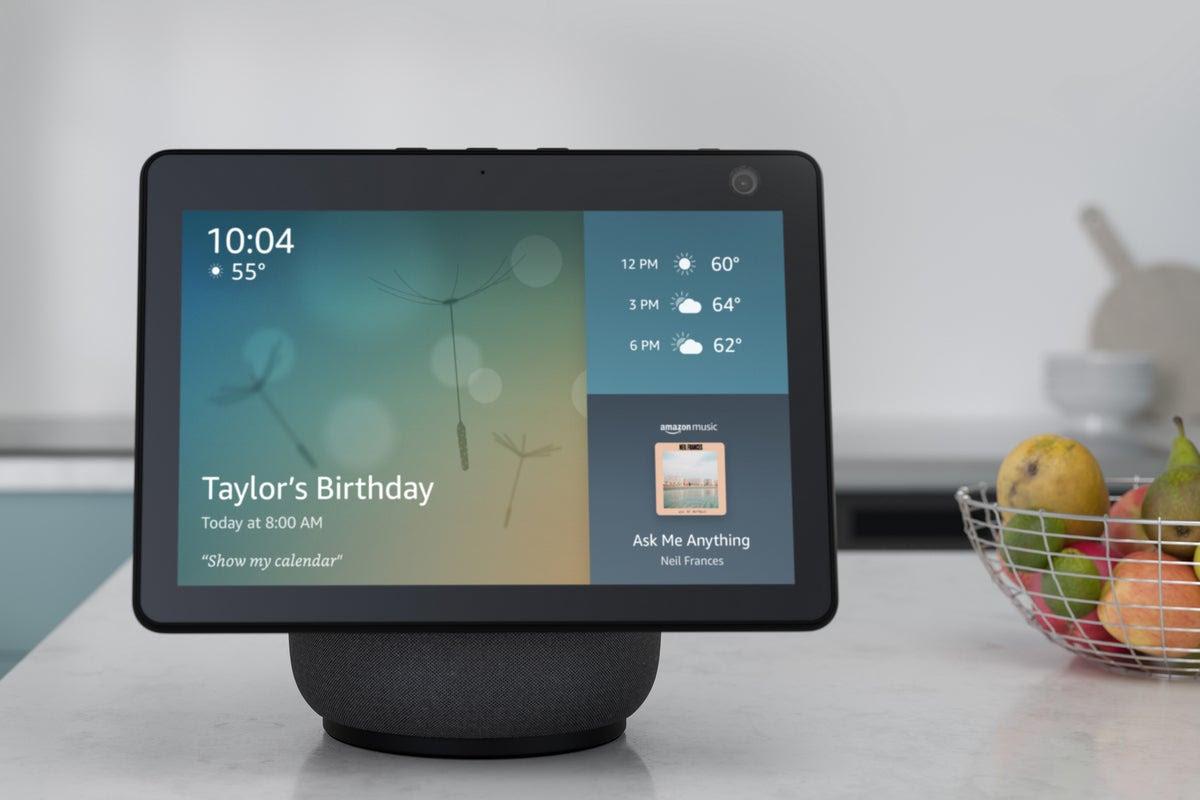 The Amazon Echo Show 10