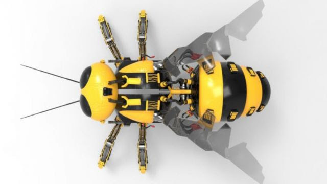 Wal-Mart Files Patents for Robotic Bees: Anticipating When Bees Become Extinct?  (Videos)