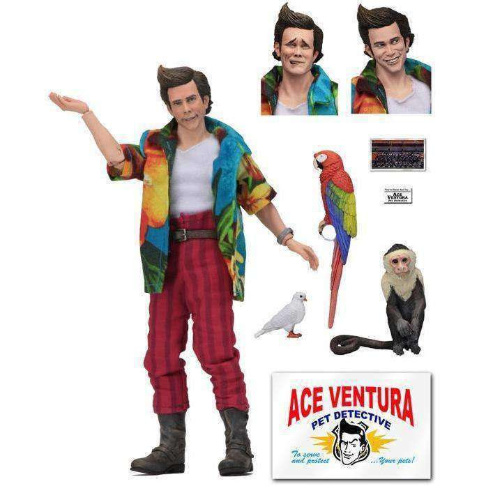 Image of Ace Ventura: Pet Detective Ace Ventura Action Figure - FEBRUARY 2019