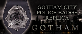 GOTHAM CITY POLICE BADGE REPLICA