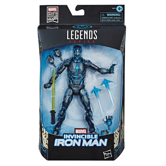 Image of Marvel Comics 80th Anniversary Marvel Legends - Stealth Suit Invincible Iron Man - DECEMBER 2019